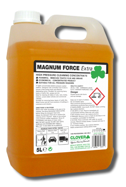 Clover Magnum Force Extra 5L - Concentrated TFR